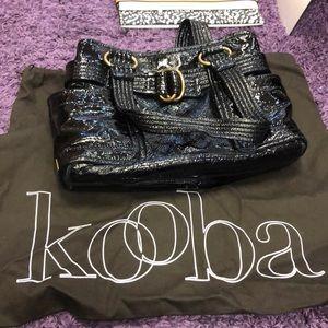 Patent leather kooba
